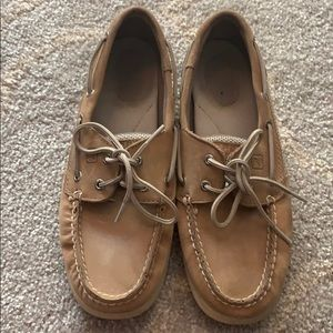 Sperry loafers tan 7.5